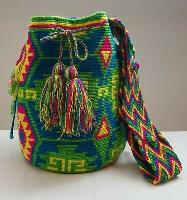 Handmade Colombian Wayuu Mochila Bag by missnative