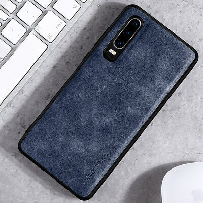 For Huawei P30 Pro Mate 20 Pro P20 Pro Shockproof PU Leather Silicone Case Cover