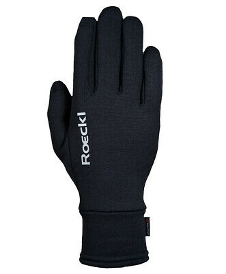 Roeckl Kailash Handschuh Multisport Freizeit Outdoor Powerstretch schwarz
