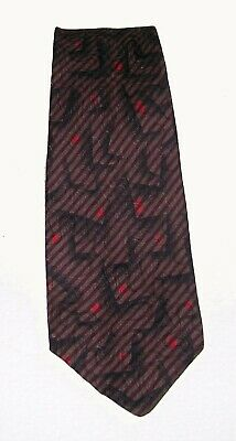 Gianni Versace Cravatta Uomo Seta 100% Tie Made In Italy