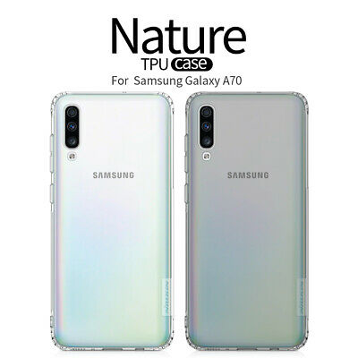 NILLKIN TPU Silicone Thin Soft Shockproof Back Case Cover For Samsung Galaxy A70