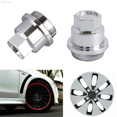 6B83 ABS Lug Nut Cap Wheel Hub Screw Cover Replacement Accessory Protector