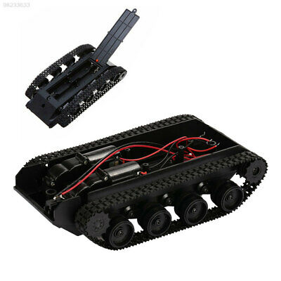2490 Rubber Track Robot Tank Tank Chassis Kit Damping Effect Education Diy