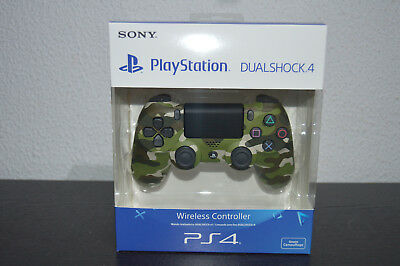 NEW Sony DualShock 4 v2 Camo Green - PS4 Wireless controller - Playstation 4