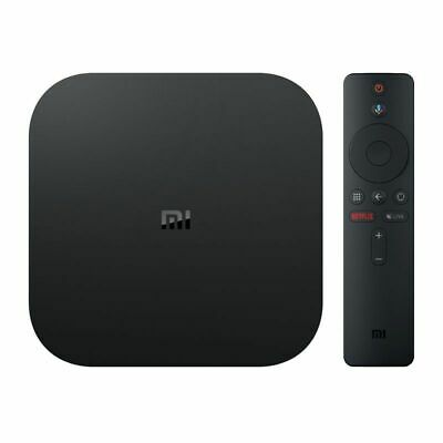 ANDROID TV XIAOMI MI TV BOX S NEGRO - QC - 2GB DDR3 - 8GB eMMC - RESOLUCION 4K -