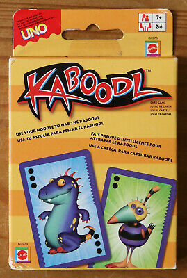 Kaboodl Card Game - From the Makers of Uno - Brand New/Sealed