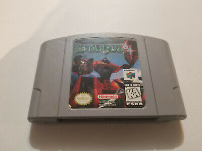 Star Fox 64 [N64] Game Cartridge Only (Nintendo 64, 1997) Free Shipping Tested
