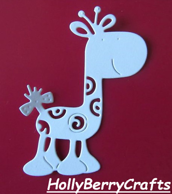 "Miricut Animal Zoo Die Cut Toppers ~ /""llama/"""