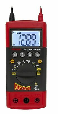 Power Probe CAT-IV 600 Volt Hybrid Safe Automotive Digital Multimeter  - PPDMM