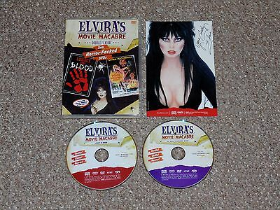 Elvira's Movie Macabre - Legacy of Blood/The Devil's Wedding Night DVD Complete