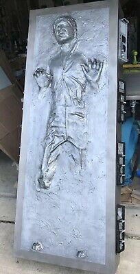 Life Size Han Solo in Carbonite Kit, Star Wars 1:1 Scale Movie Prop