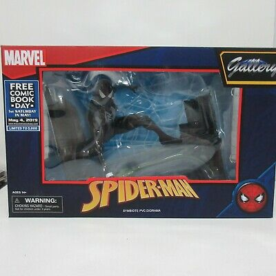 Marvel Gallery Symbiote Spider-Man PVC Diorama FCBD 2019 NEW