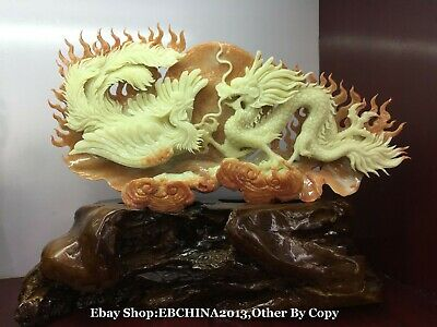 HAND WORK OLD EFFECT XIANG ZHANG SCULPTOR WOOD CARVED DRAGON WALL PANEL nnn