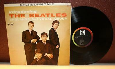 The Beatles Introducing The Beatles Lp Vinyl Vee Jay Records Sr 1062 Vj-1062 R19