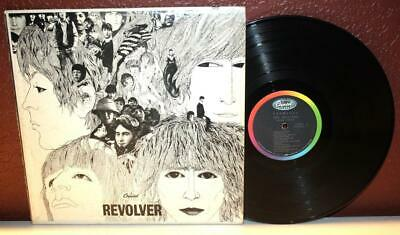 The Beatles Revolver Lp Vinyl Capitol Records T-2576 ~R19