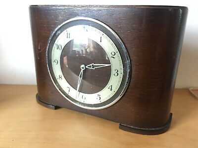 Art Deco Mantle Clock for Spares or Repair