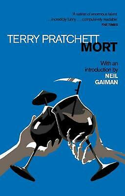 Mort: Introduction by Neil Gaiman by Terry Pratchett Paperback Book Free Shippin