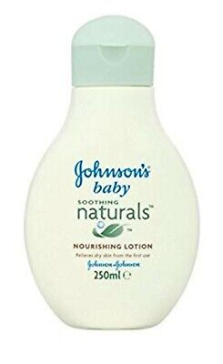 2 X 400Ml Johnsons Baby Soothing Naturals Moisture Rich Bath Replenishes Dryskin