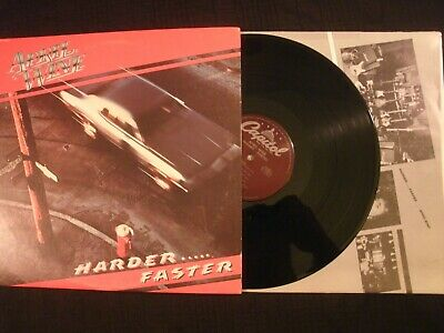 April Wine - Harder..... Faster - 1979 Vinyl 12'' Lp./ VG+/ Hard Rock AOR