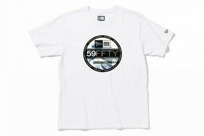 NEW ERA Limited Cotton T-shirt Hokusai Great Wave off Kanagawa WH Japan Tracking