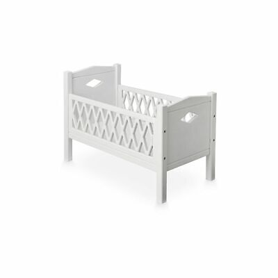 Harlequin Doll's Bed - White Play Toy Accessories