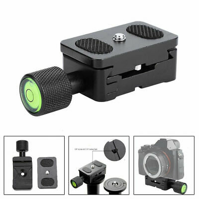 30mm 1/4 Quick Release QR Plate Clamp Adapter Mount  For Camera Tripod Ball Head