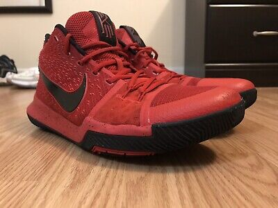 38fd93cb3fbc Nike Men s Kyrie 3 Shoes Size 11.5 Three-Point Contest Red Basketball 852395 -600