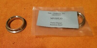 TiAL MVSFLO MV-S Wastegate 38mm Outlet Weld On Flange Stainless Steel