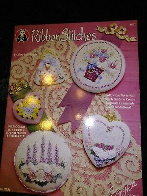 Ribbon Stitches  Suzanne McNeill Design Originals by Mary Lou Wright  1994
