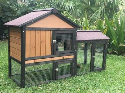 Rabbit Hutch Guinea Pig cage run Chicken Coop Hen House MountainMall Meadow