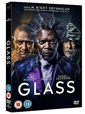 Glass (DVD 2019) Brand New Unopened!  Free Ship!