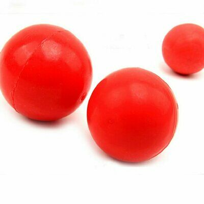 2X Elastic Rubber Solid Ball Bite Resistant Fetch Ball Pet Puppy Dog Playing Toy