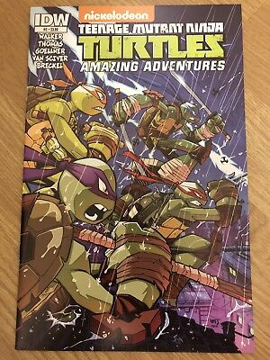 Idw Teenage Mutant Ninja Turtles Amazing Adventures #2 Comic Eastman Zodiac