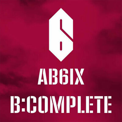 AB6IX [B:COMPLETE] 1st EP Album CD+POSTER+Book+Sticker+3p Card+Stand+Mark SEALED
