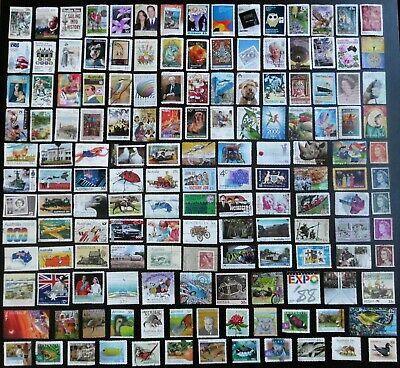 AUSTRALIA mixed bulk lot, decimal collection, used, 150 different, MAU306