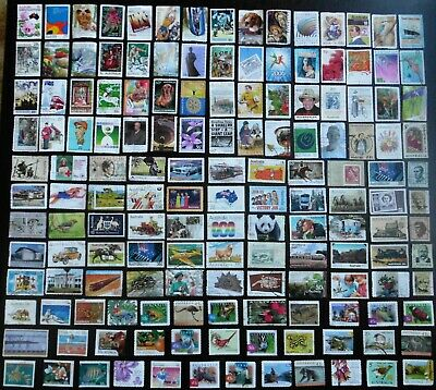 AUSTRALIA mixed bulk lot, decimal collection, used, 150 different, MAU308