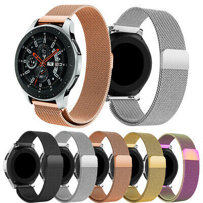 Milanese Stainless Steel Metal Loop Band Strap For Samsung Galaxy Watch 42/46mm