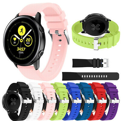 Sport Silicone Band Bracelet Strap Replacement For Samsung Galaxy Watch Active