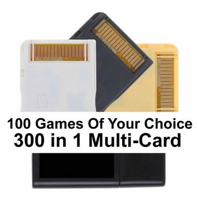 R-Four Gold Dual Game Card Flashcard For New Nintendo 3DS 2DS DSI XL & 4 DS Lite