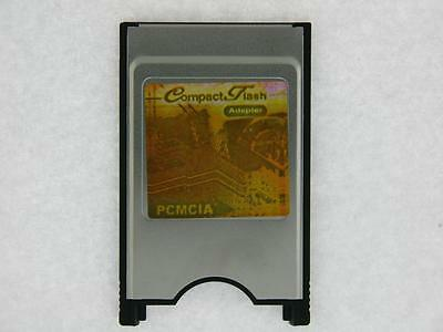 Compact Flash CF card to PCMCIA PC card adapter