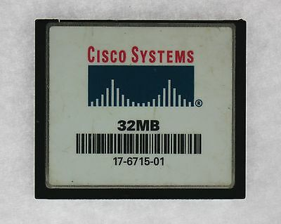 Cisco 17-6715-01 Systems 32MB Flash Card for C2600 Series Router
