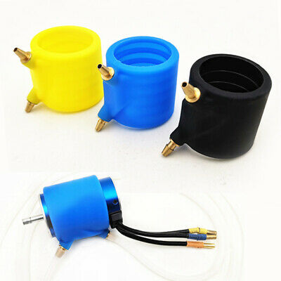 """#865 Silicone Water Cooling Jacket 7//8/"""" Standard Gas Exhaust Header for RC Boat"""