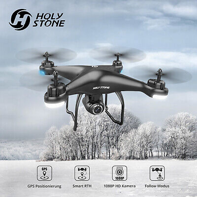 Holy Stone HS120D RC Quadcopter Drone GPS WiFi FPV 1080P HD Kamera Drohne