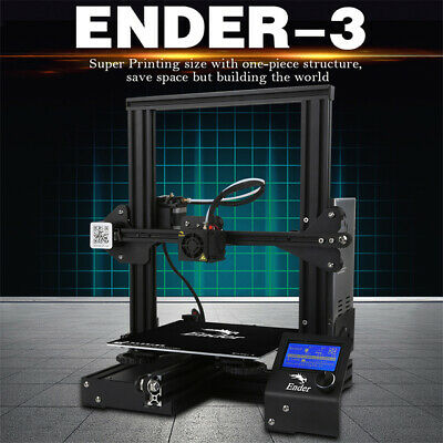 Creality 3D Ender-3 Stampante 3D Printer Kit Prusa I3 Alta Precisione 180mm/s EU