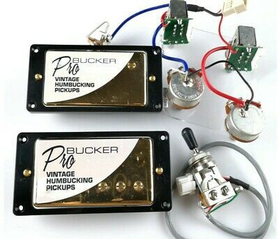 Awesome Complete Epiphone Probucker Vintage Humbucker Pickup Set With Wiring Wiring Cloud Hisonuggs Outletorg