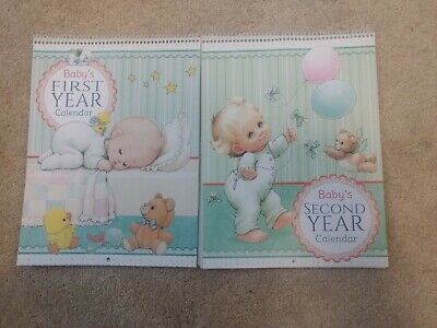 Baby's First And Second Year Calendars