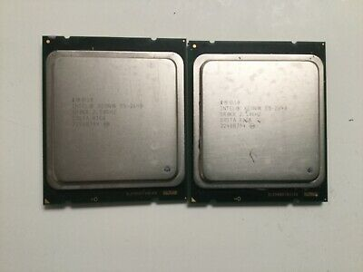 Intel Xeon E5-2640 Max Turbo 3.00 GHz 6-Core Processor SR0KR 15MB SmartCache