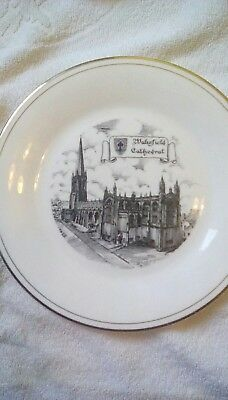 Wakefield Cathedral Plate Made For The Crockery 8Inch Across