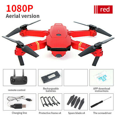 Upgrade E58 Foldable 5MP 1080P Camera Wifi FPV Mavic Pro Selfie Quadcopter Drone