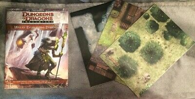 War of Everlasting Darkness +MAPS. Dungeons and Dragons D&D Encounters 4th ed.